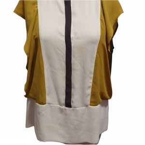 Women's Zara Basic Blouse Top Size L